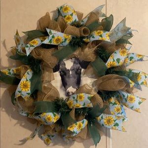 Other - Summer Cow wreath
